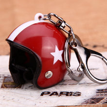 Mini Helmet Key Chain
