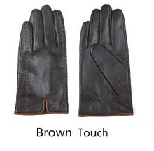 Goatskin Leather Riding Gloves