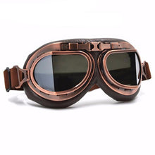 Copper Vintage Motorcycle Goggles