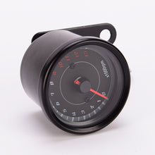 Black Tachometer Gauge