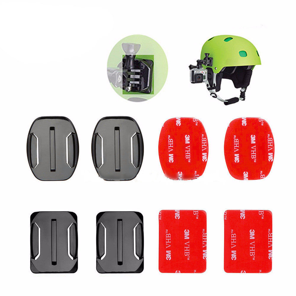 Gopro helmet mounts
