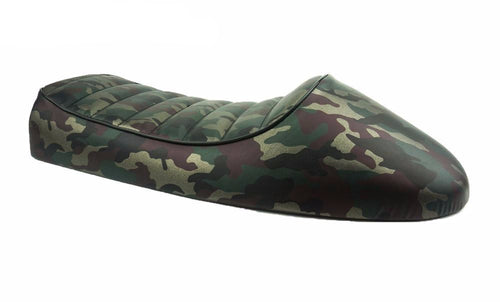 camo cafe racer seat parts