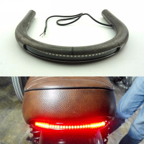 cafe racer led taillight weld in hoop