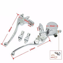 All Chrome Clutch and Brake Lever Set