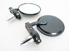 Carbon Fiber Bar End Mirrors