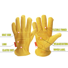 Goat Leather Riding Gloves