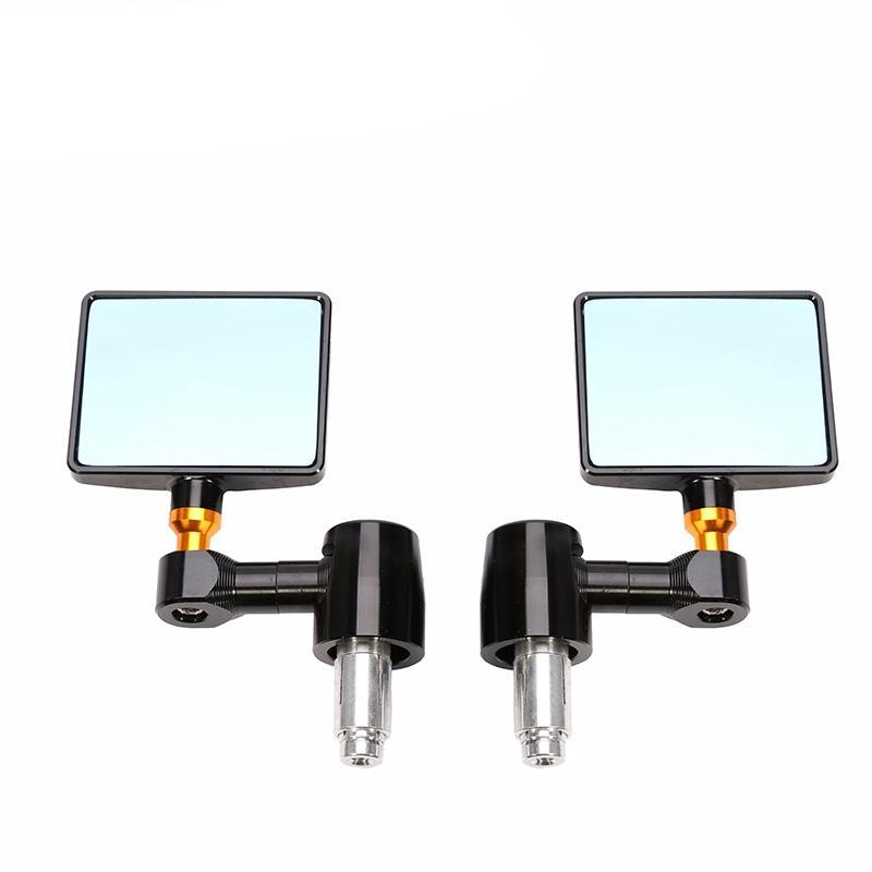 Square Bar End Mirrors