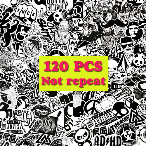 120 Graffiti Stickers