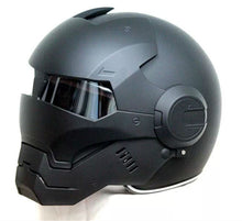 cafe racer helmet iron man helmet