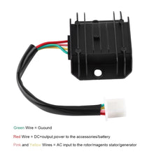 4 Wire Voltage Regulator Rectifier