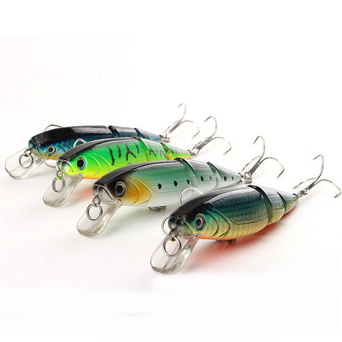 Minnow Fishing Lure Set (4 pieces) - Gear & Gadgets