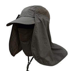 Fishing cap with face and neck protector - Gear & Gadgets