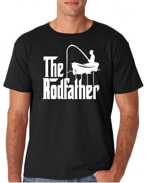 The Rodfather Funny FIshing T-shirt