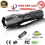 Aluminum Waterproof LED Flashlight/Torch - Gear & Gadgets