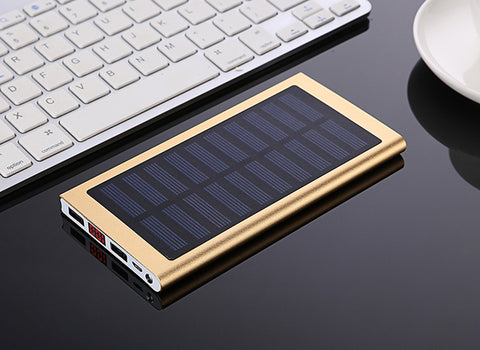 Solar Powered Phone Charger - Gear & Gadgets