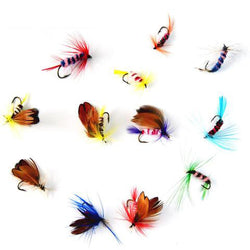 Fly Fishing Lure Set 12pcs/set - Gear & Gadgets