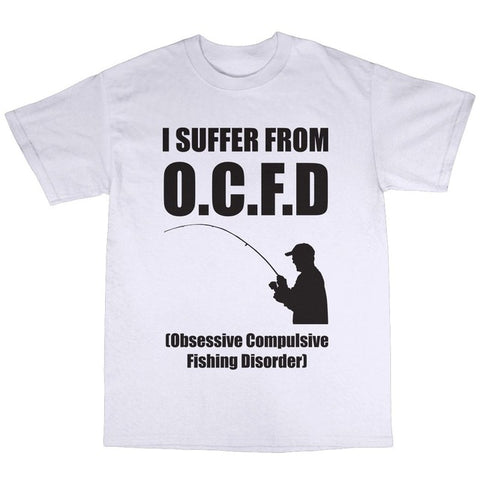 OCFD Funny Fishing T-shirt