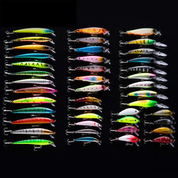 43 Piece Fishing Lure Set - Gear & Gadgets