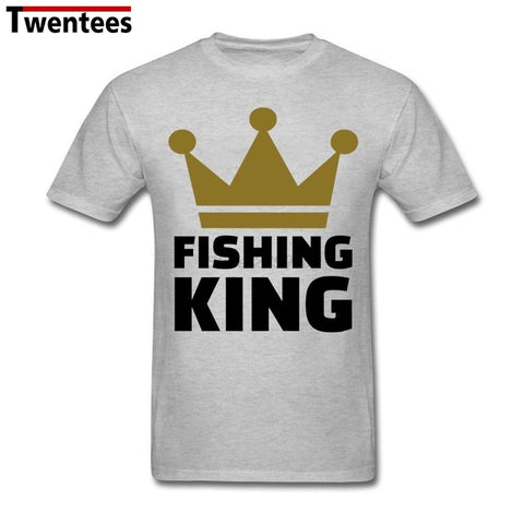 Fishing King Funny T Shirt