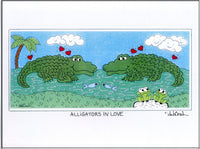 ALLIGATORS IN LOVE -  8.5