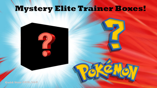 Mystery Elite Trainer Boxes