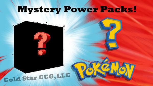 Mystery Power Packs 1:2 (50%) odds at vintage!