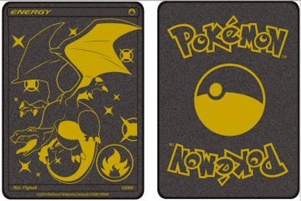 Custom Charizard Metallic Card