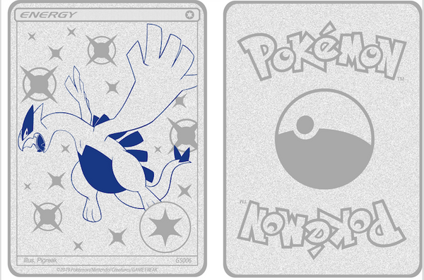 Custom Lugia Metallic Card