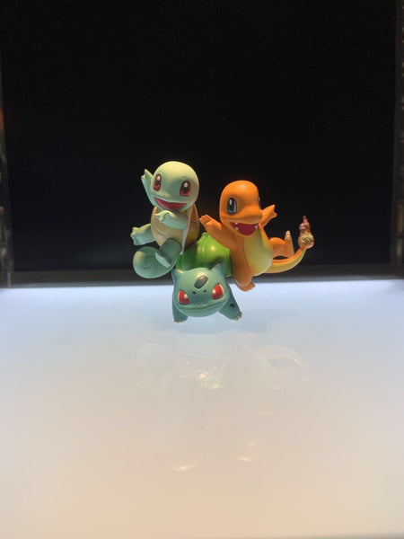 Gen 1 Starters Bulbasaur Squirtle Charmander - Pokemon Mini Figure - IN STOCK