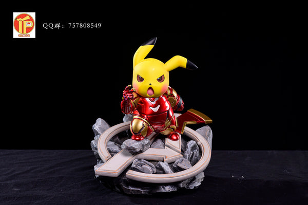 Iron Man Pikachu - Pokemon Resin Statue - PREORDER