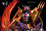 Digimon Resin Statue - GK - Wargreymon Digivolution (PREORDER)