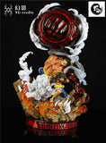 Luffy Gear 4 - One Piece Resin Statue - Yu Studio