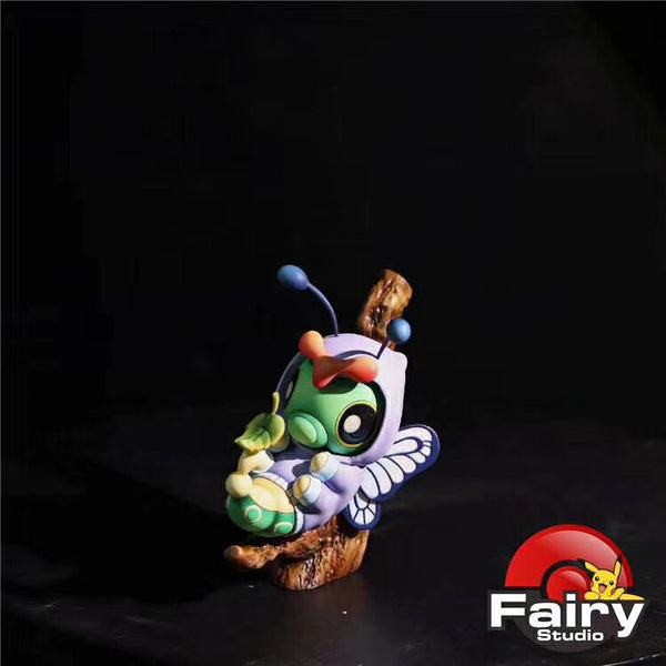 Caterpie Butterfree Cosplay - Pokemon Resin Statue - Fairy Studio (PREORDER) Itsbirdy