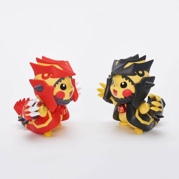 Primal Groudon Pikachu Cosplay - Pokemon Mini Figure (PREORDER)