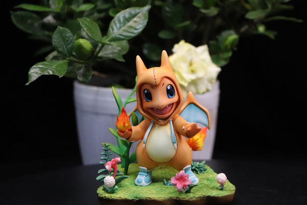 Charmander Charizard - Pokemon Resin Statue - PREORDER Itsbirdy