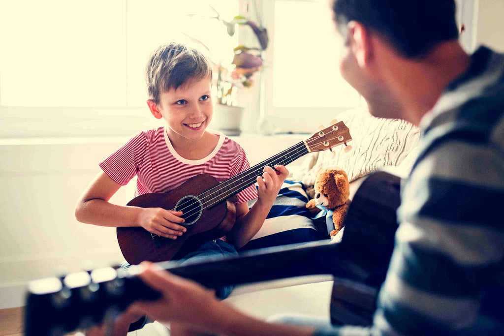 How To Create Fun Family Memories With Ukulele