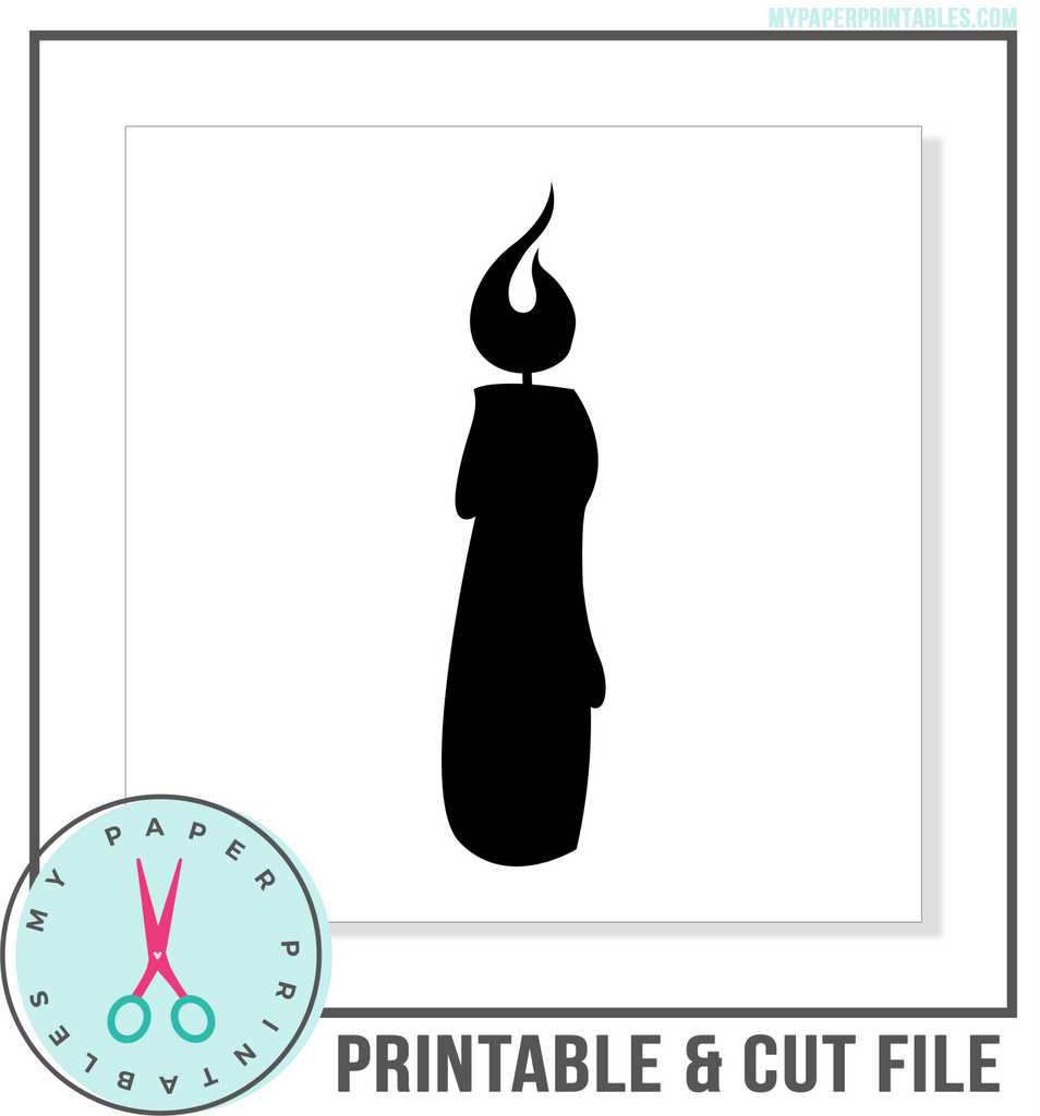 Candle Cut File