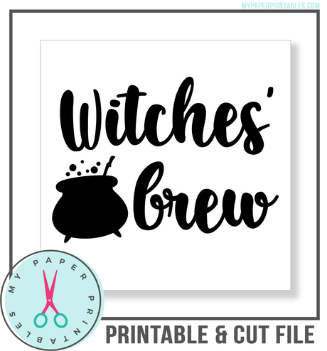 Witches Brew Cut File