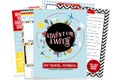 Kid's Travel Journal - 2 Week Instant Download Journal