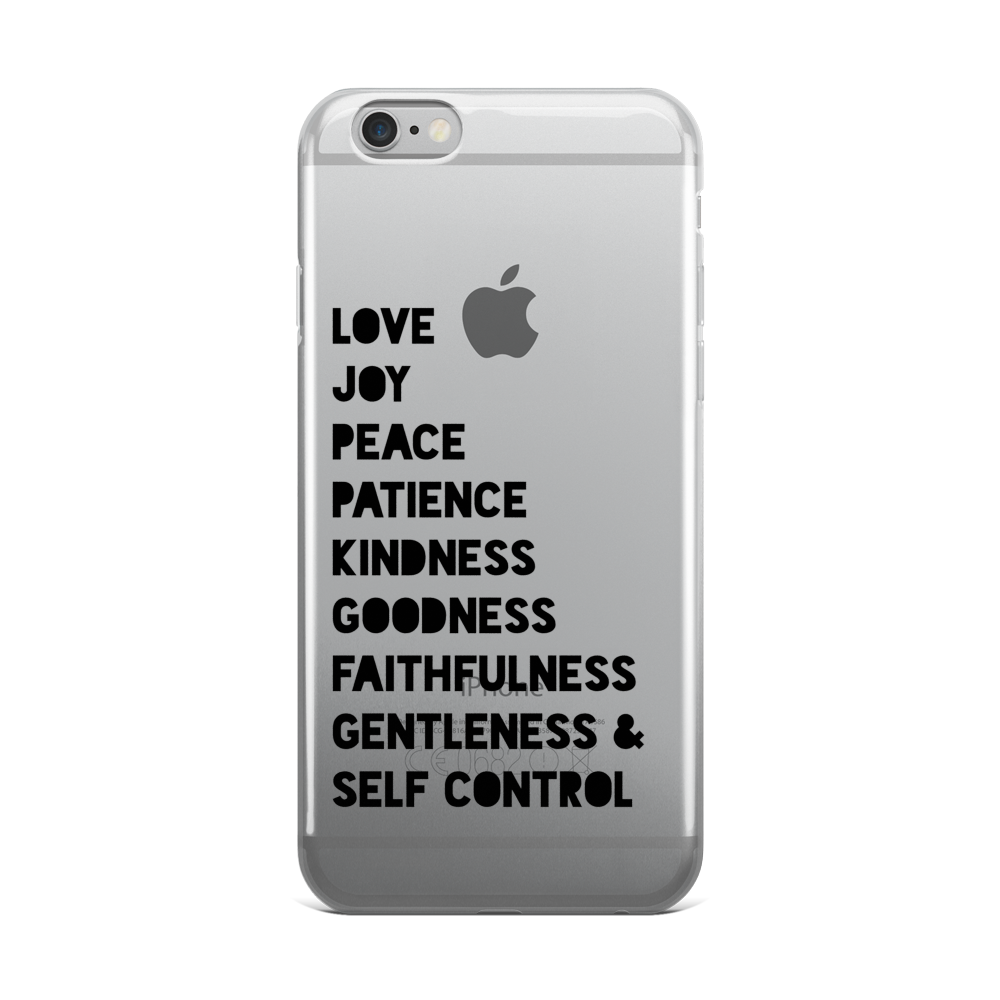 Fruit Of The Spirit iPhone 5/5s/Se, 6/6s, 6/6s Plus Case