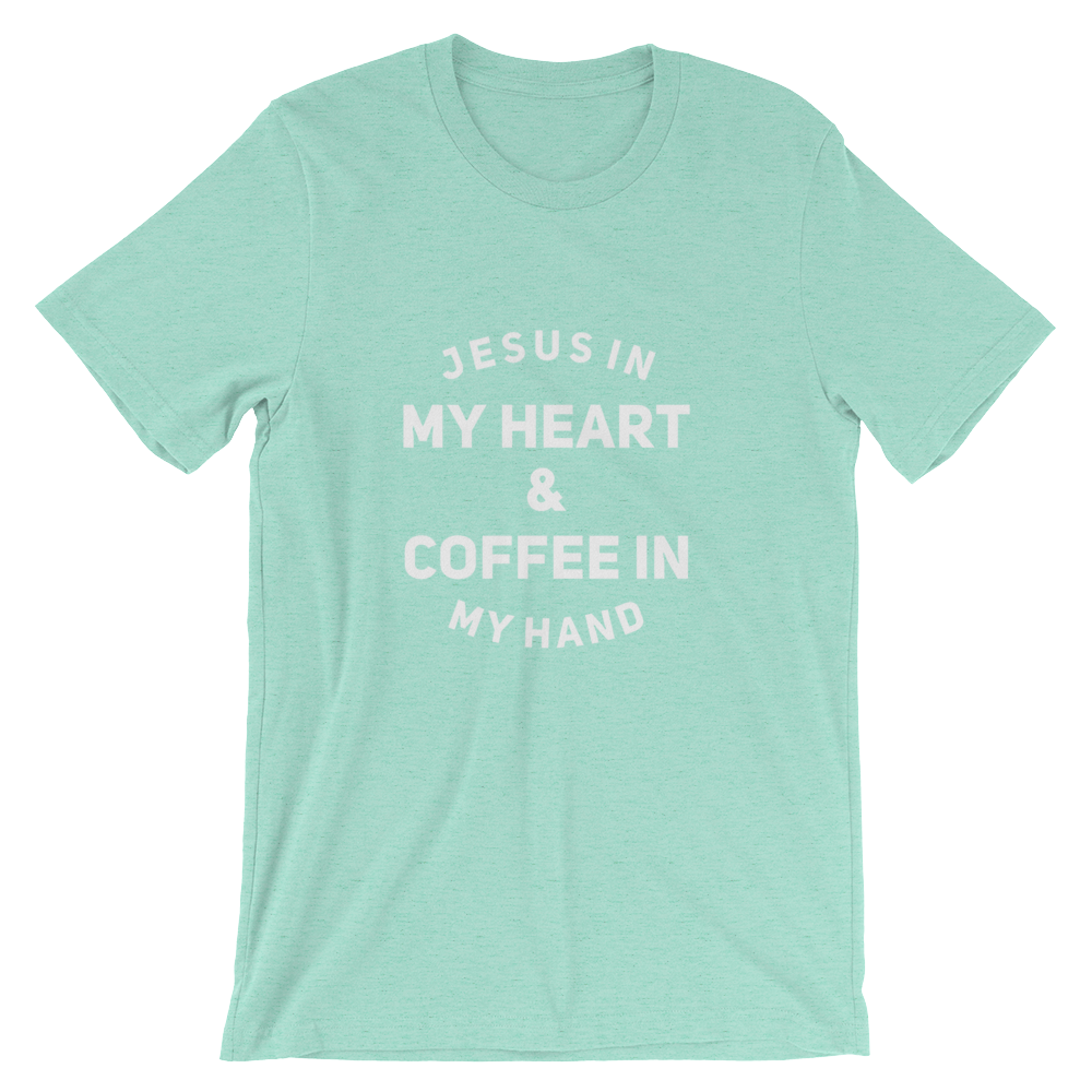 Jesus & Coffee Short-Sleeve Unisex T-Shirt