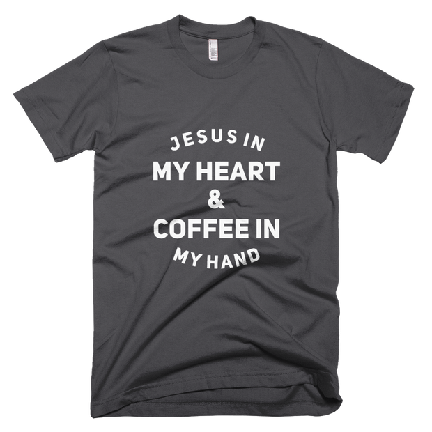 Jesus & Coffee Unisex Short-Sleeve T-Shirt