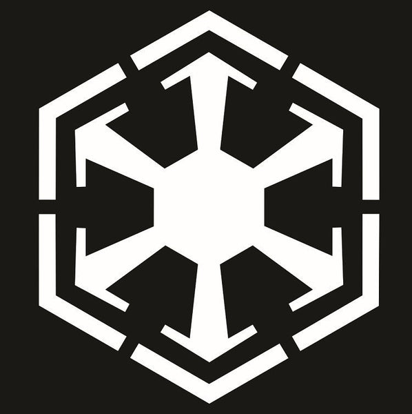 Star Wars Sith Empire Logo Decal Choose Size Color The Force