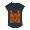 Women's Mali T-Shirt- Orange Hi Vis - Hi-Vis-Trends