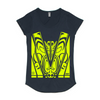 Women's Mali T-Shirt- Yellow Hi Vis - Hi-Vis-Trends