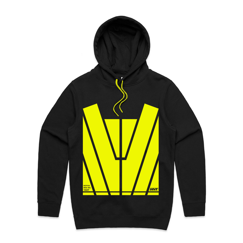 Classic Hoodie - with Yellow Hi-Vis