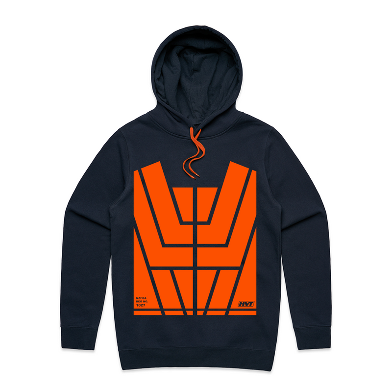 Transform Hoodie - with Orange Hi-Vis