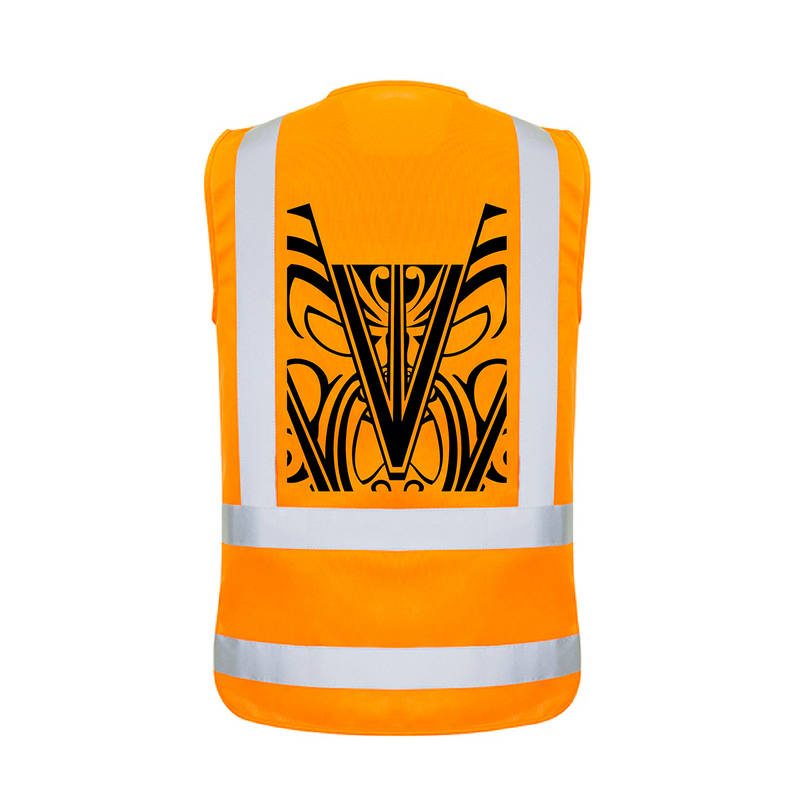 Hi Vis Adult Vest Reflector Stripes - Hi-Vis-Trends