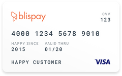 Blispay Digital Card