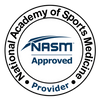 National Academy of Sport Medicine Approved